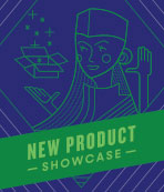 new product show graphic
