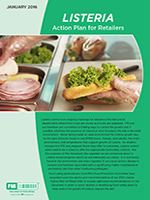 Listeria Action Plan for Retailers