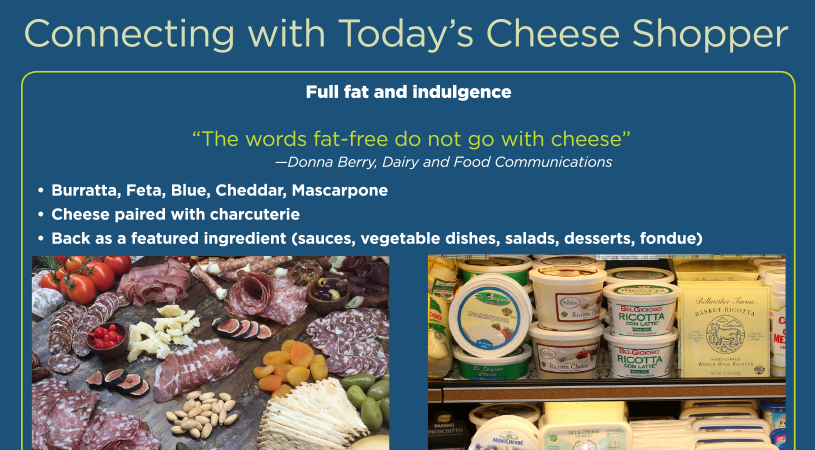 whats in store today's cheese shopper