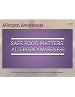 Safe Foods Matters: Allergen Awareness