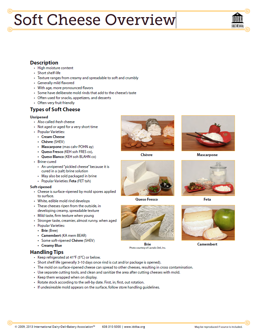 Soft Cheese Overview