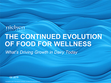 The Continued Evolution of Food for Wellness and What's Driving Growth Today.