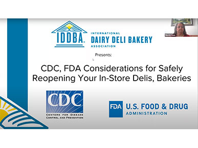CDC, FDA Considerations for Safely Reopening Your In-Store Delis, Bakeries