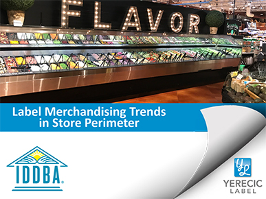 Label Merchandising Trends in the Store Perimeter