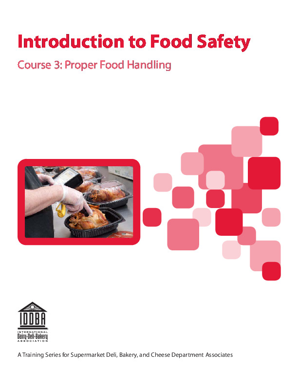 Introduction to Food Safety - Course 3
