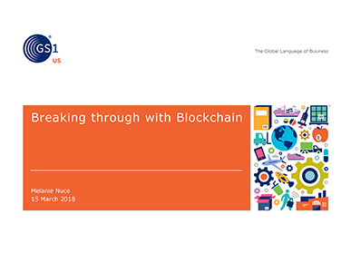 breaking through with blockchain webinar ppt slide