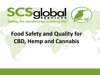Food Safety And Quality for CBD, Hemp, and Cannabis