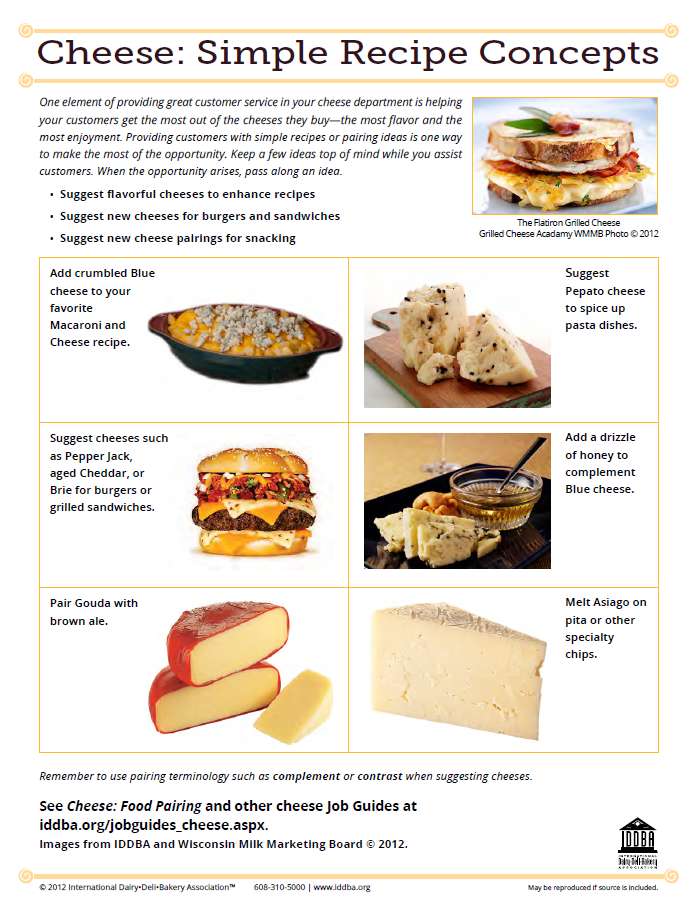 Cheese Simple Recipe Concepts
