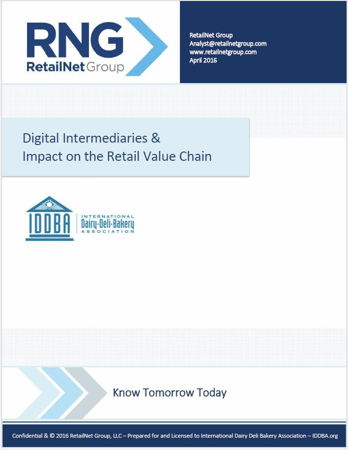 Digital Intermediaries & Their Impact on the Retail Value Chain