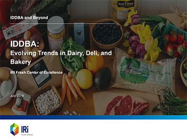 The perimeter of the store continues to contribute to total store sales, with dairy, deli, and bakery making up a sizable portion of that growth. IRI takes a deep dive into the top trends and drivers