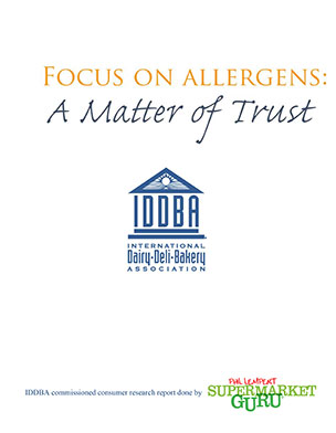 Focus on Allergens A Matter of Trust